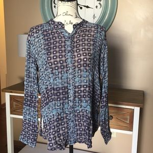 NWT Free People button down top